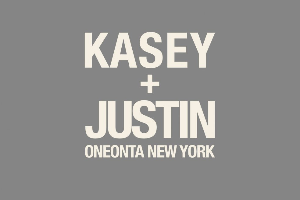 Kasey and Justin