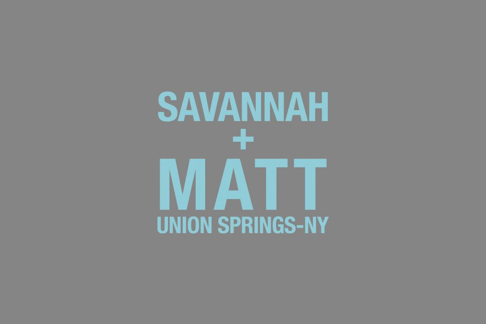 Savannah and Matt