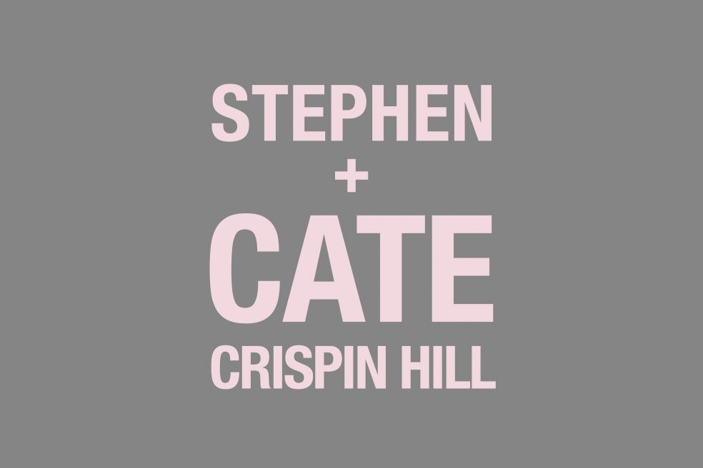 Stephen and Cate